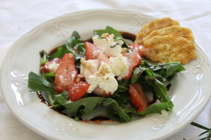 FlotteLotte Erdbeeren Zigenkäse Salat_13