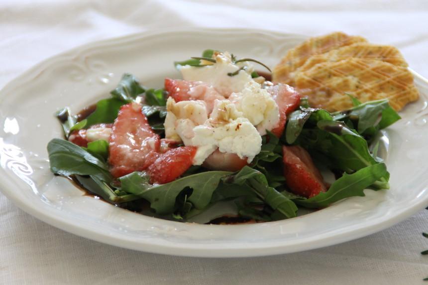 FlotteLotte Erdbeeren Zigenkäse Salat_19
