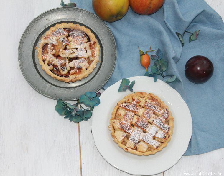 FlotteLotte Apfel und Pflaumen Pie_30