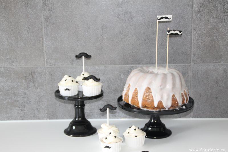 FlotteLotte Mustache Kuchen und Cupcake_35