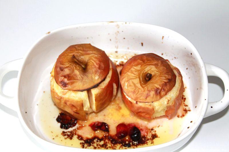FlotteLotte Bratapfel mit Cranberryeis
